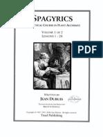 Spagyrics Vol 1