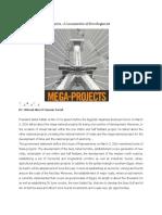 The Mega National Project A Locomotive of Development