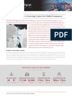 The Suez Canal A Growing Center for Global Commerce