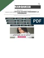 Relatos Eróticos de VÍRGENES y su PRIMERA VEZ Gratuitos   Marqueze.pdf