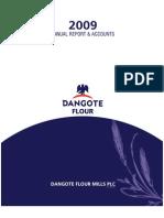 Dangote Flour Mills Abridge 2009