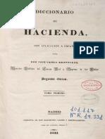 Diccionario de Hacienda (Tomo1)