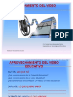 Guia Para Ver Un Video Educativo