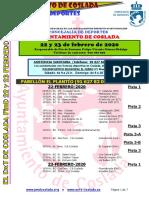 DEPORTE   El DXT de Coslada / 22 y 23 de febrero