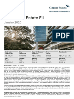 Relatorio CSHG Real Estate FII 2020 01