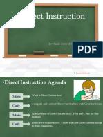 Direct Instruction vs. Constructivism