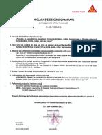 Declaratia de conformitate AT 336-2016 (FIBRE CARBON) - Stizo Nuclear