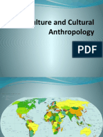 I.culture and Cultural Anthropology