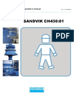 Sandvik instruction CH430 - (English)