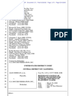 USSF Summary Judgment Motion