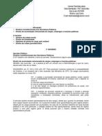 Direito Administrativo - 07ª aula - 25.07