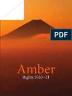 Amber Rights Catalog 2020-21