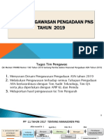 Desain Pengawasan Pengadan PNS 2019