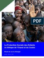 Protection Sociale Des Enfants Au Senegal