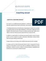 Dossier Coaching sexual