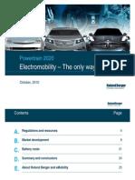 Electromobility 2020