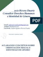 ACLARANDO CONCEPTOS SOBRE ORIENTACIÓN SEXUAL E IDENTIDAD DE GÉNERO
