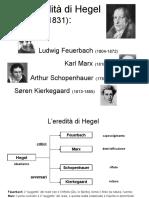 l'eredità di Hegel
