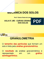 Aula_07_MS_CURVAS GRANULOMETRICAS DOS SOLOS