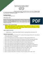 JCC March 25 Agenda