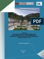 Informe Evaluacion Geologica Geodinamica Del Deslizamiento en El Cerro Manzanapata Distrito de Huachos Provincia Castrovirreyna Region Huancavelica 2014