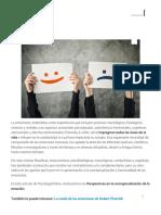 PSICO_Perspectivas en la conceptualización de la emoción
