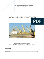 Charte Partie Synacomex