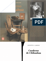 Clariond - Cuaderno Chihuahua