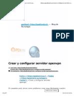config server openvpn