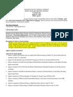 JCC Board April 22 Agenda