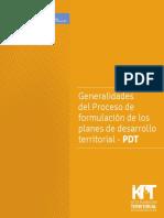 KPT Planes de Desarrollo Colombia