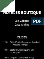 HOTELES BOUTIQUE