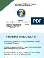 Prezentacija WINDOWS 7