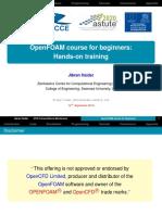 [Haider-2018-OpenFOAM_course] OpenFOAM for beginners