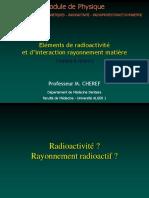 radioactivite