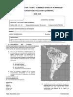 EVALUACIÓN QUIMESTRAL HISTORIA TERCERO DE BACHILLERATO TIPO B