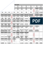 Cronograma Entrega de Tarjetas Plan Alimentar