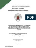 Análisis familias con hijos superdotados_MC López Escribano_Tesis