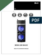 Manual Boxa LDK BA122