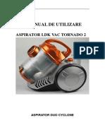 Manual Aspirator LDK VAC TORNADO 2