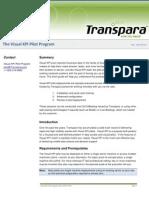2010-09-29 - transpara visual kpi pilot program
