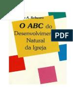 ABC-Desenvolvimento Natural da Igreja
