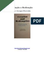 Pe. Georges Florovsky - Criação e Redenção