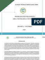 PLAN DE AREA TECNOLOGIAS E INFORMATICAS