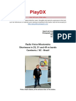 La Voz Misionaria - Martin Butera & Dario Monferini - PlayDX 2020