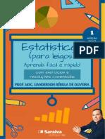 Livro pdf - Estatística I (para leigos) - aprenda fácil e rápido!