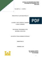 respuestas clase magistral 3-geologia