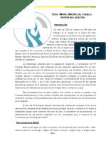 PREPARACIÓN para el IV Congreso Mariano Nacional 2020
