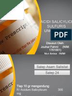 ACIDI SALICYLICUM SULFUR UNGT