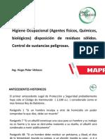 Higiene Ocupacional MAPFRE Agosto 2019
